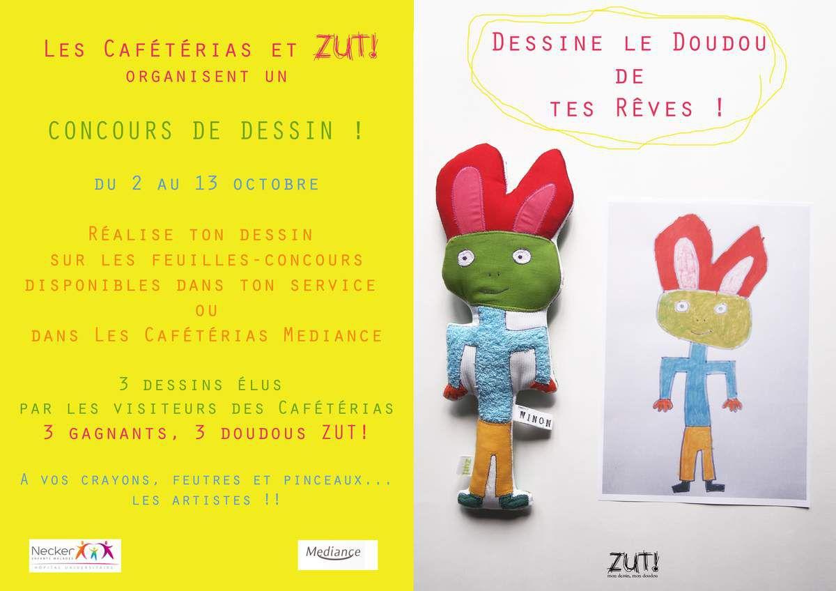 Concours de Dessin Zut! à l'Hôpital Necker