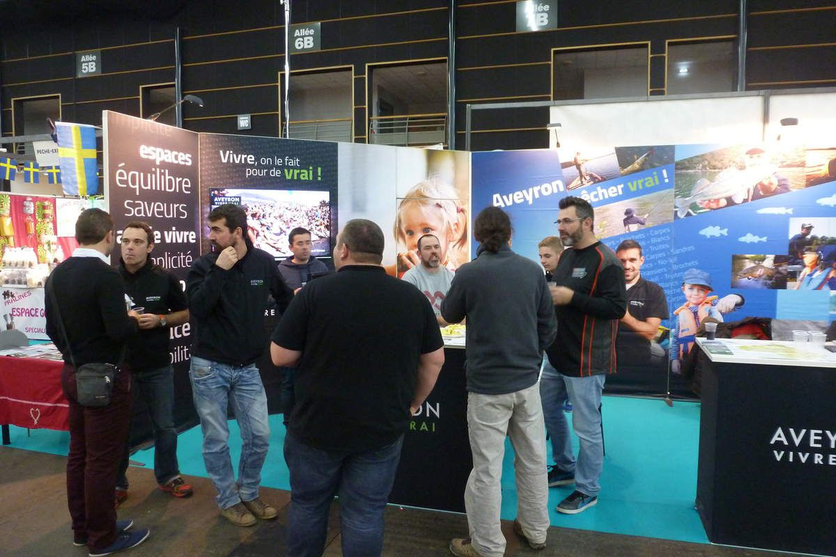 Salon de la Pêche de Loisir Clermont-Ferrand 2016