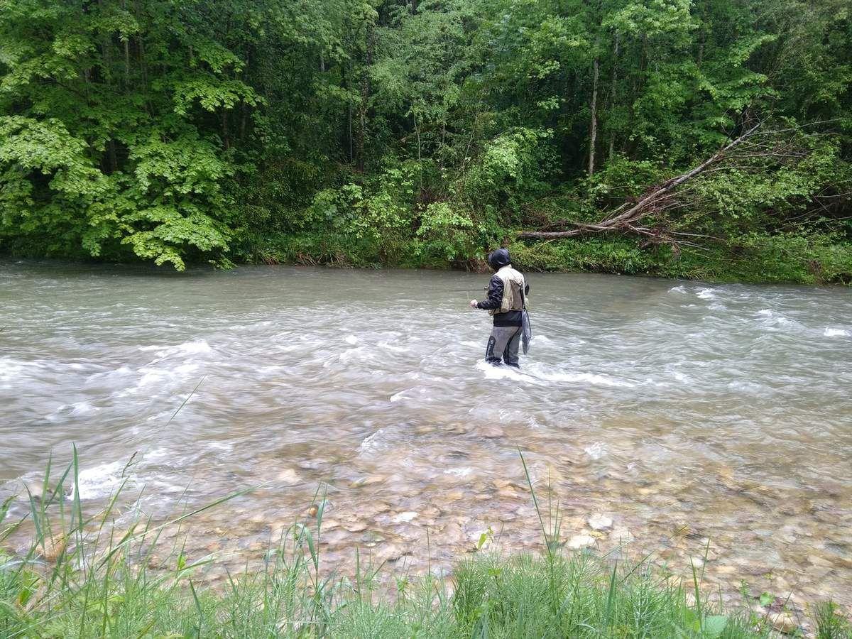 Session pêche à la mouche en BPJEPS