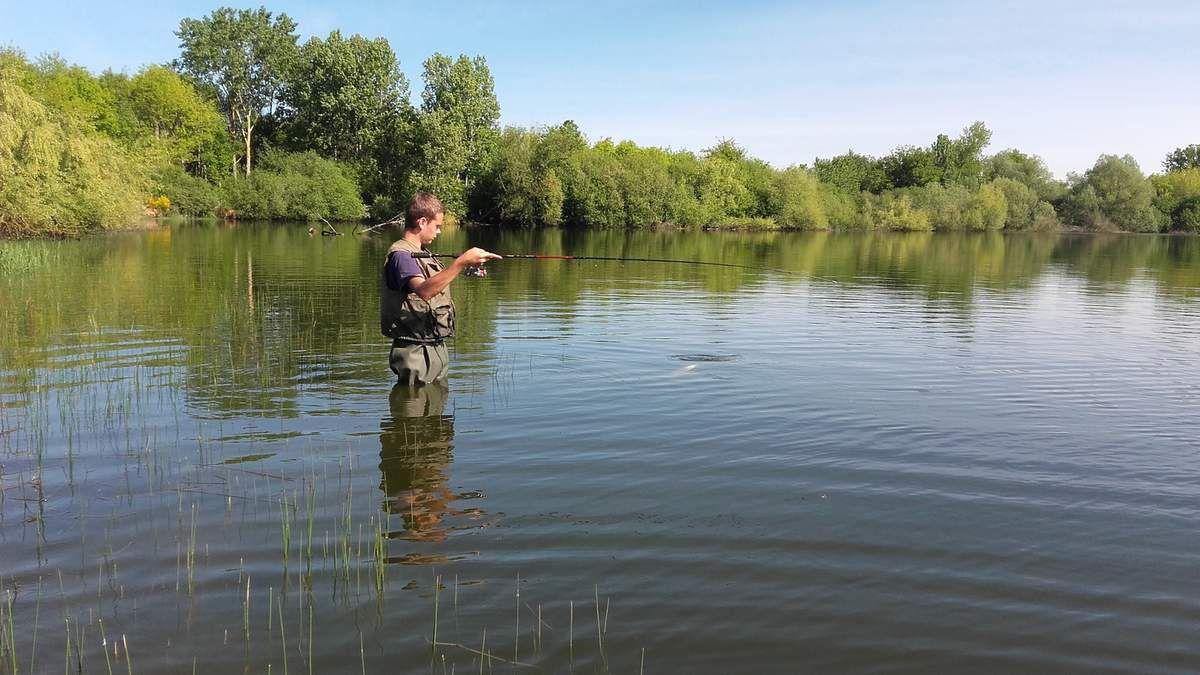 Pêche aux carnassiers en lac Collinaire