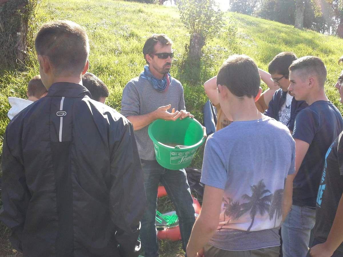 Reprise des activités pêche pour les élèves de 4-3ème de la MFR