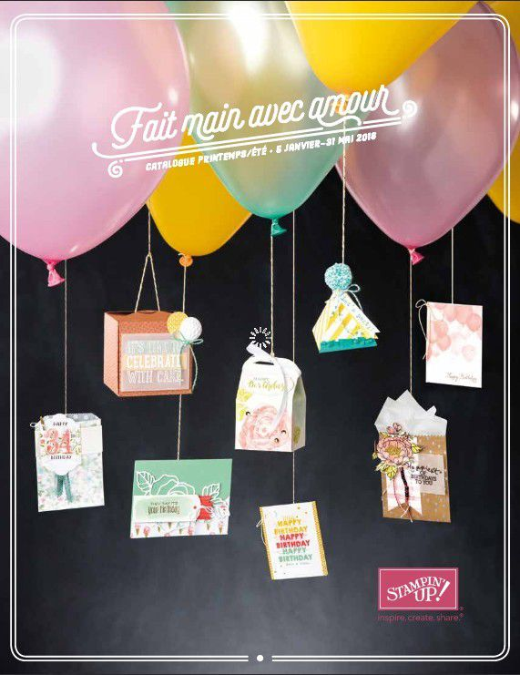 Stampin'Up! Catalogue printemps été 2016