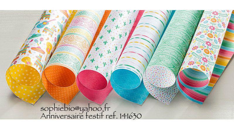 Promotion papiers de la série design Octobre - Sophiebio