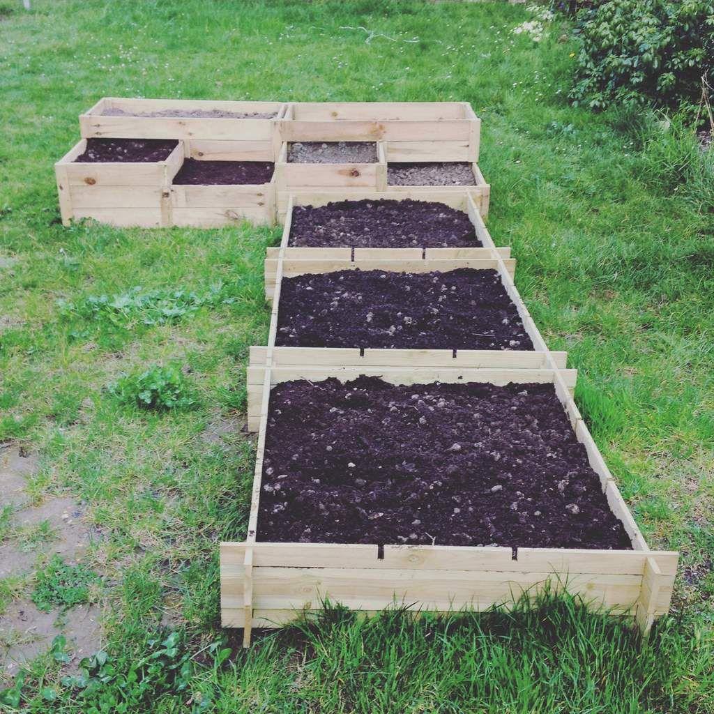 Les carr s potagers du petit jardin mes petits jardins - Quand mettre du fumier de cheval dans le jardin ...