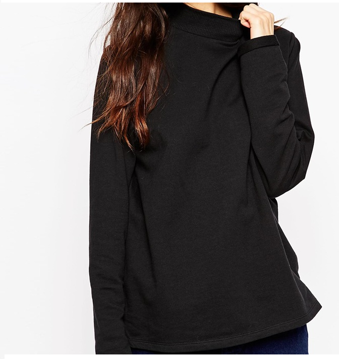ASOS - Sweat à col montant 25,99 €