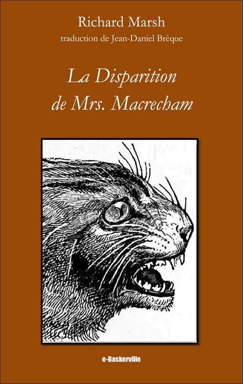 [e-Baskerville #12] Richard Marsh - La Disparition de Mrs. Macrecham