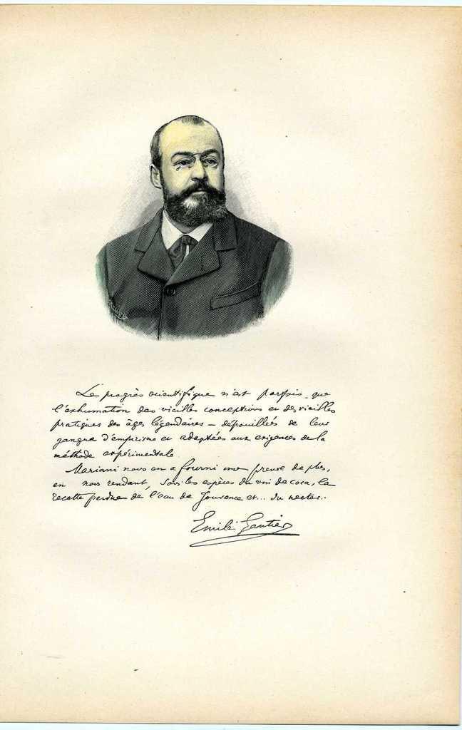 Bio/Bibliographie : Marie-François Goron & Émile Gautier