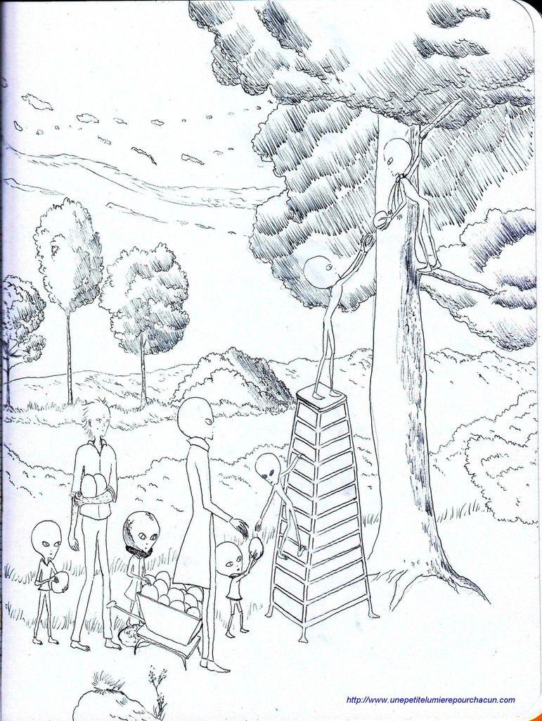 Le revirement en cours chez les aliens
