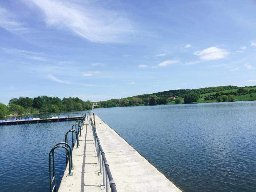 Le relais de phalemprise au barrage de l 39 eau d 39 heure - Barrage de l odeur ...