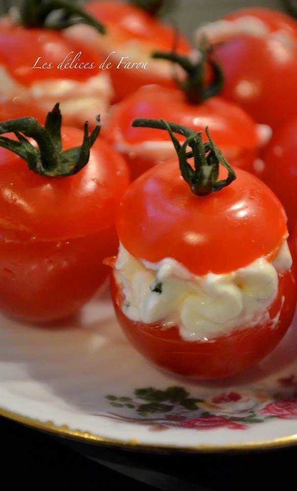 Tomates surprises au fromage (Saint Môret)