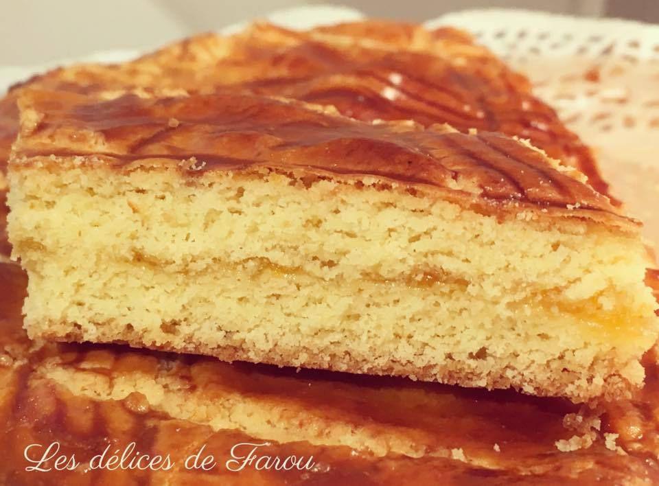 Gâteau Breton à la confiture