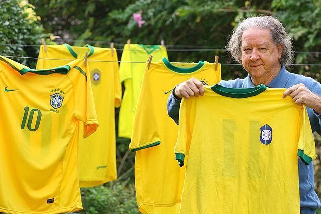 Aldyr Garcia Schlee, creatore della mitica divisa verdeoro del Brasile