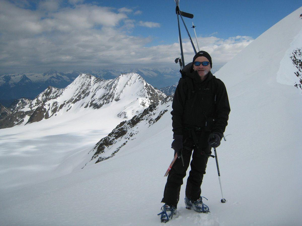 Raid à Ski  dans le Valais