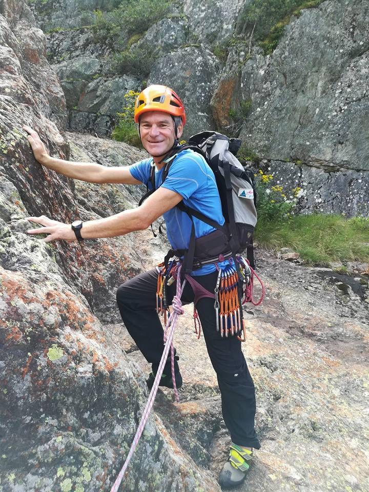 Rives de la Mer de Glace - Rocher des Mottets : Voie Câline