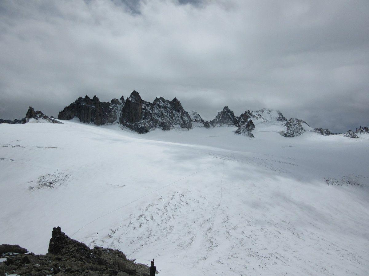 Depuis la Cabane des Trient -3070 mètres