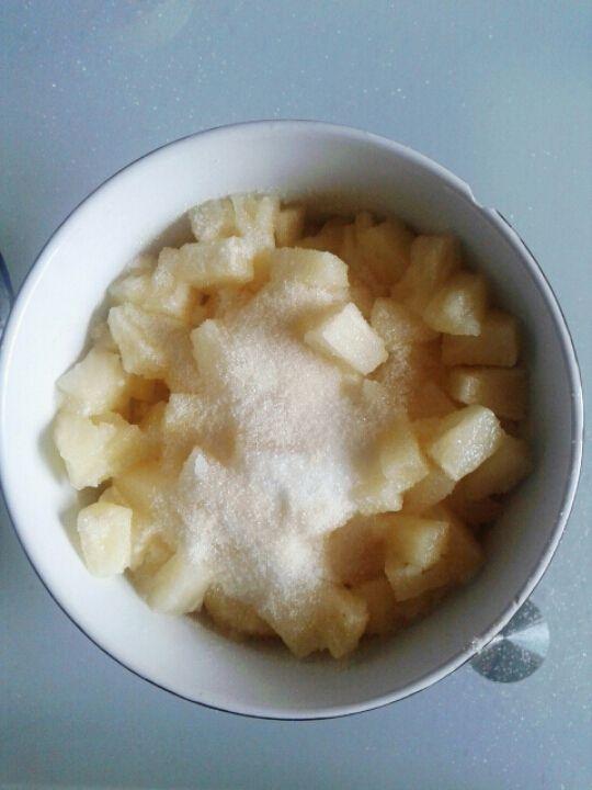 I'm back ! Blabla &amp&#x3B; recette de tarte à l'ananas !