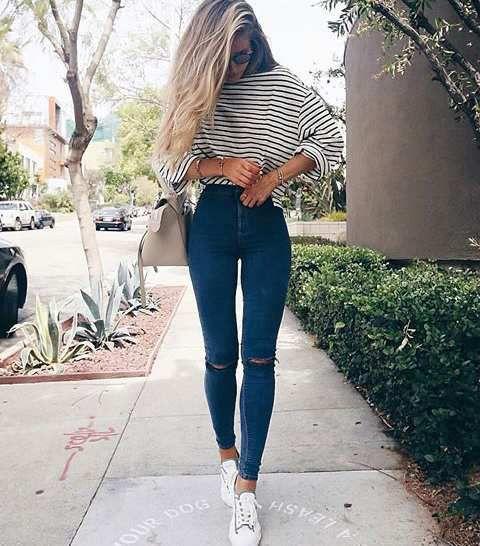 On commence par les jeans slim & skinny
