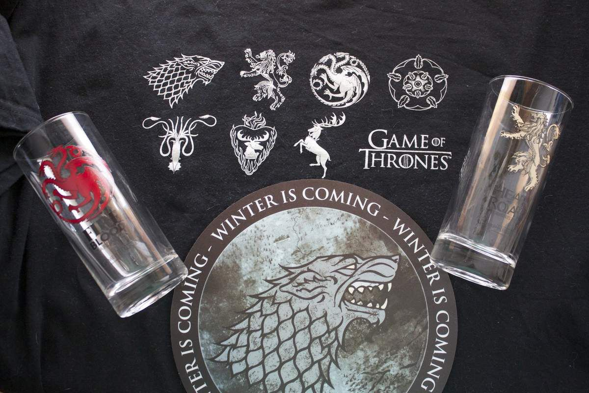 Geeky box Game of thrones!
