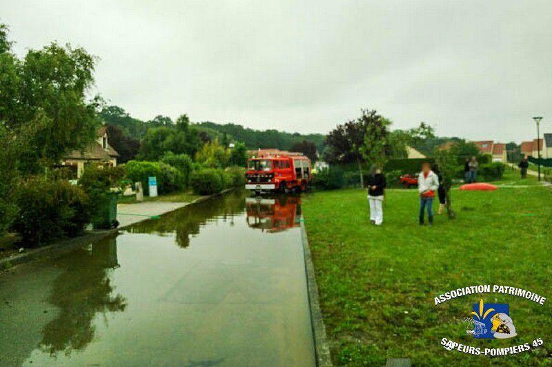 01/06/2016 - Inondations dans le Loiret