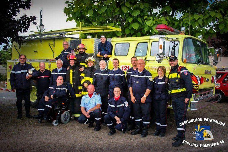 18 Juin 2016 - Congrès Départemental des Sapeurs-Pompiers du Loiret à Bellegarde