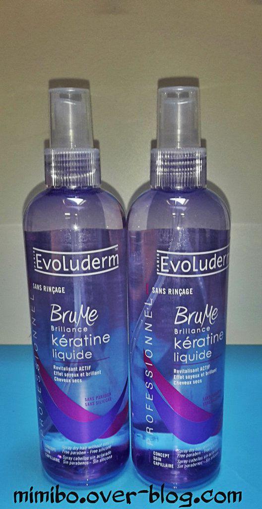 Spray cheveux Evoluderm : 1€99 (pas soldé)