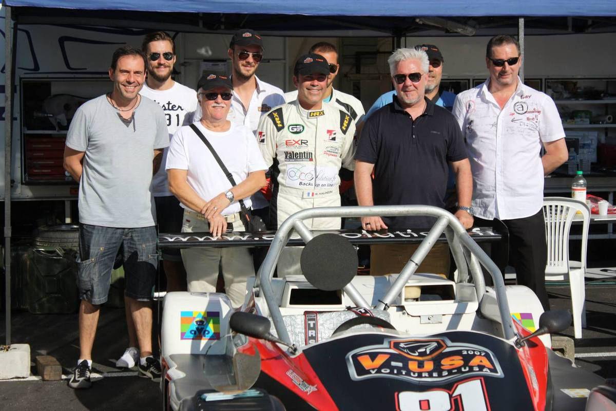 Carton presque plein pour Renaud au Circuit Paul Ricard !!