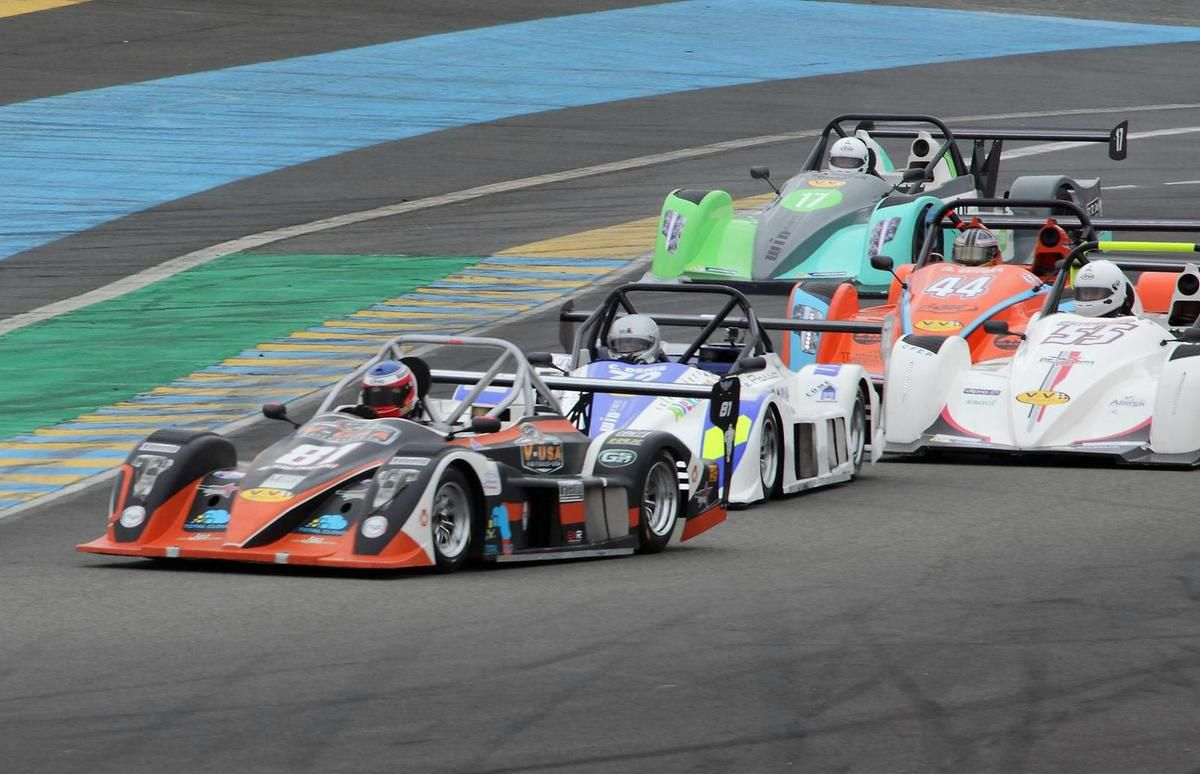 Team V-USA et Renaud, 1 victoire et 1 podium au Mans !