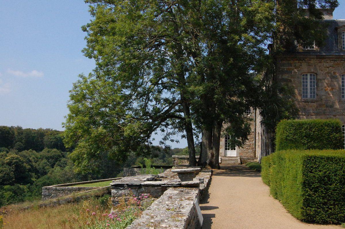 Lanvellec - Parc du chateau de Rosanbo