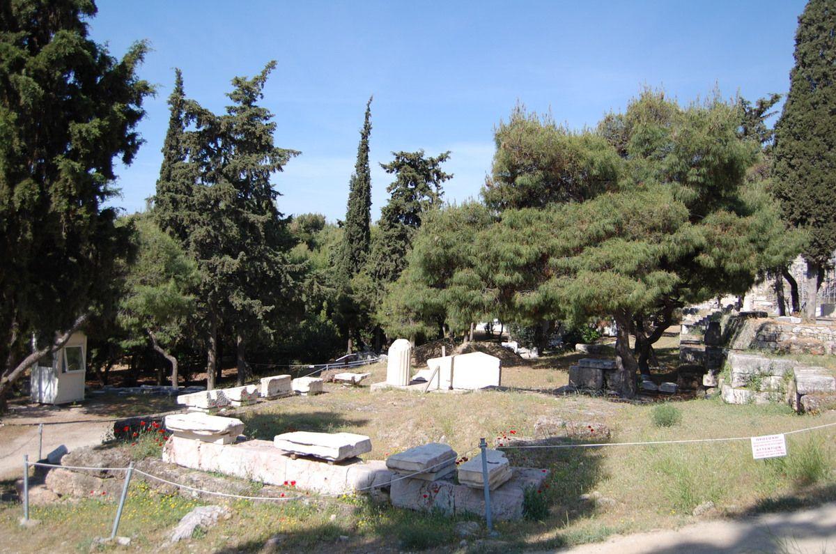 Athènes - Parc archéologique de l'Acropole