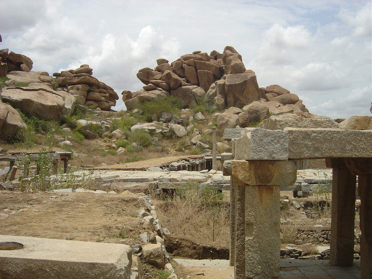 Inde - Parc archéologique d'Hampi
