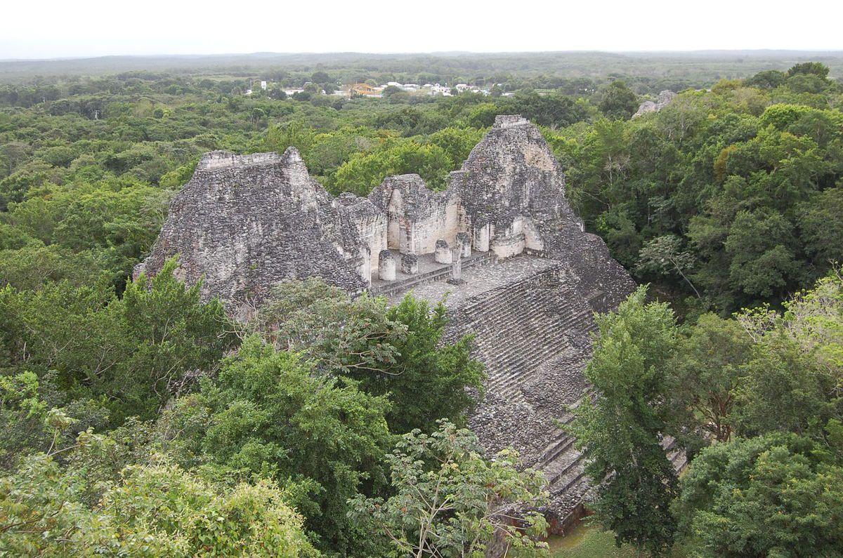 Yucatan - Parc archéologique de Bécan