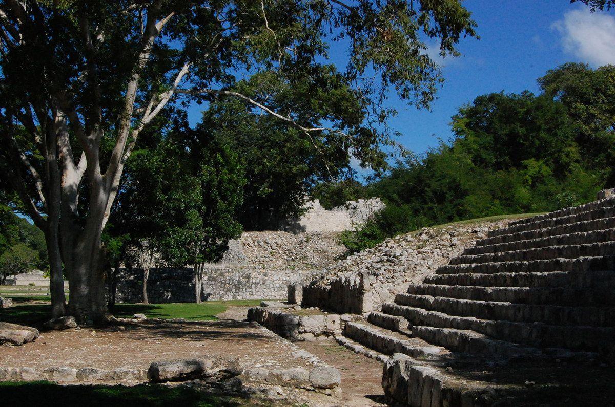 Yucatan - Parc archéologique d'Edzna