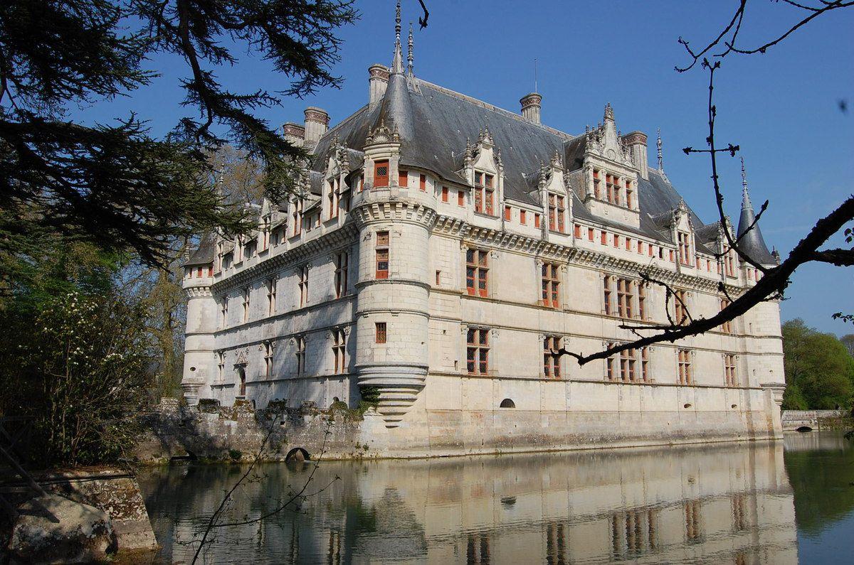 Châteaux de la Loire - Le parc du château d'Azay le Rideau