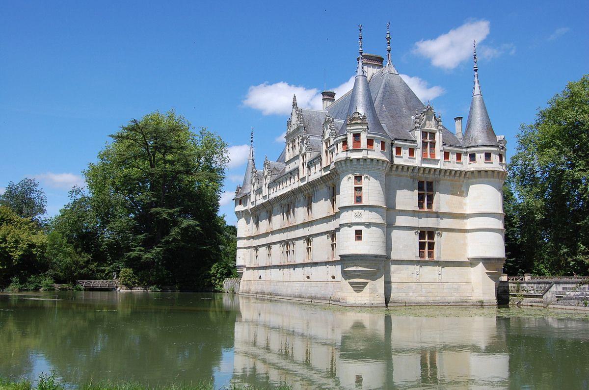 Ch teaux de la loire le parc du ch teau d 39 azay le rideau - Les jardins de la renaissance azay le rideau ...