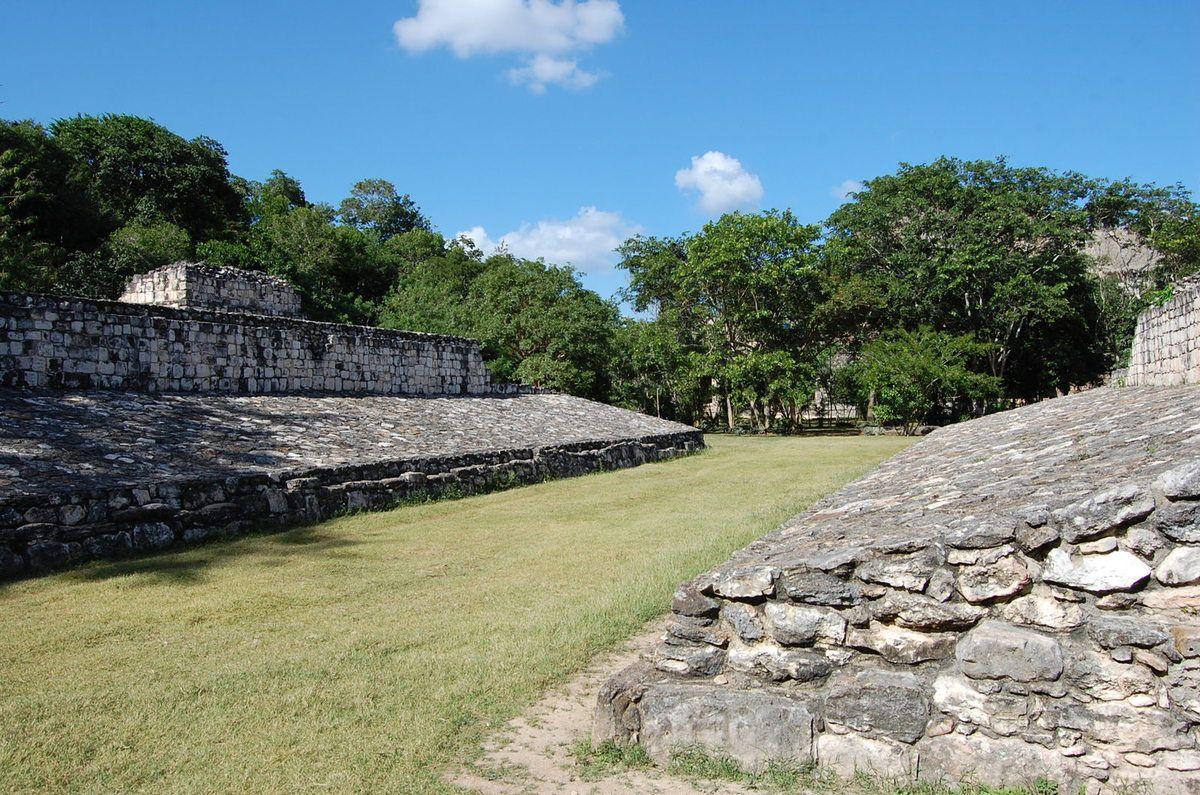 Yucatan - Parc archéologique d'Ek-Balam