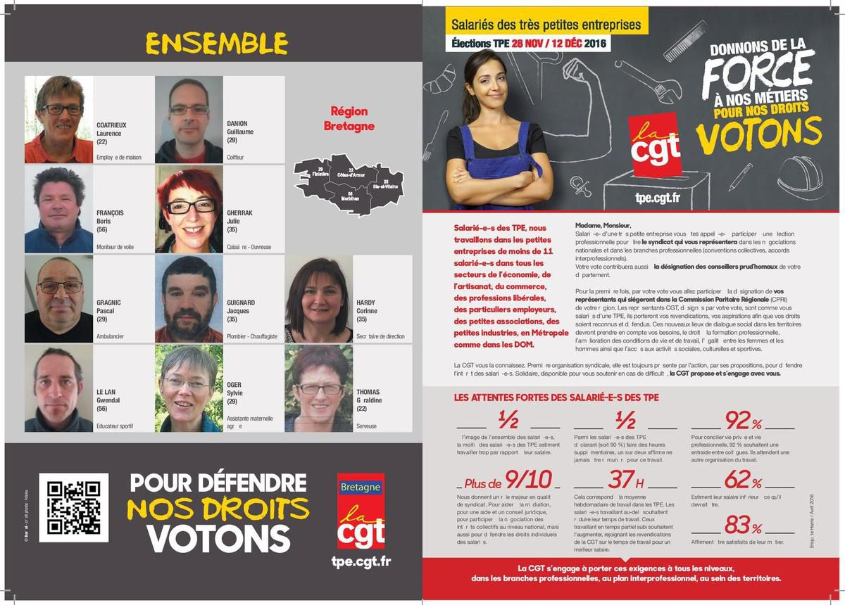Nos candidats !!!