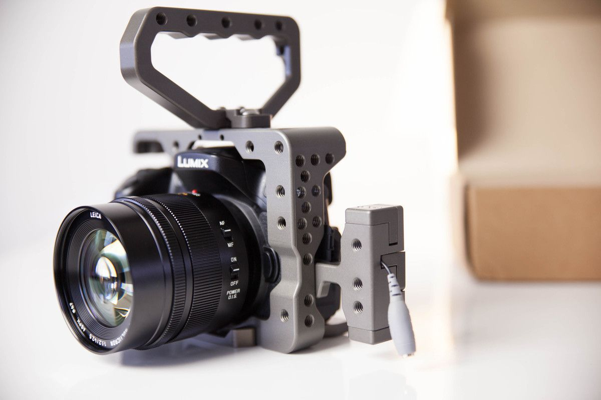 Test de la Cage Motionnine Cube Mix sur le GH4