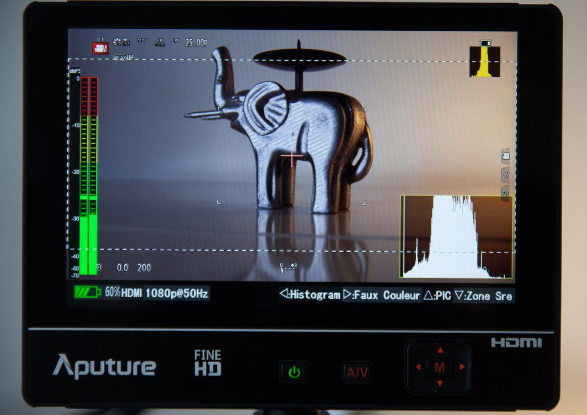 TEST ECRAN-MONITEUR 7p APUTURE VS2 FINE-HD