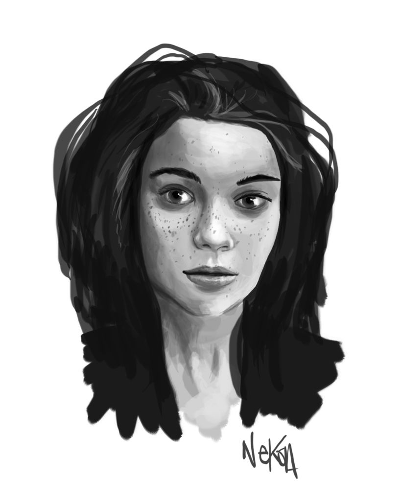 speedpainting portrait