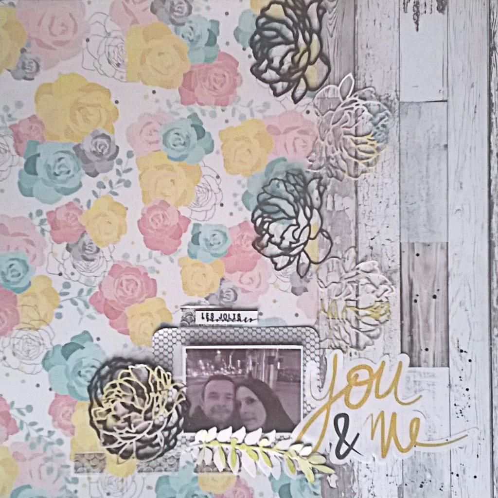 Challenge d'avril sur Un Air De Scrap