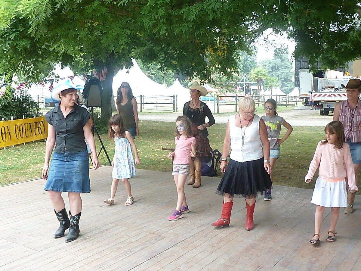 initiation à la danse country