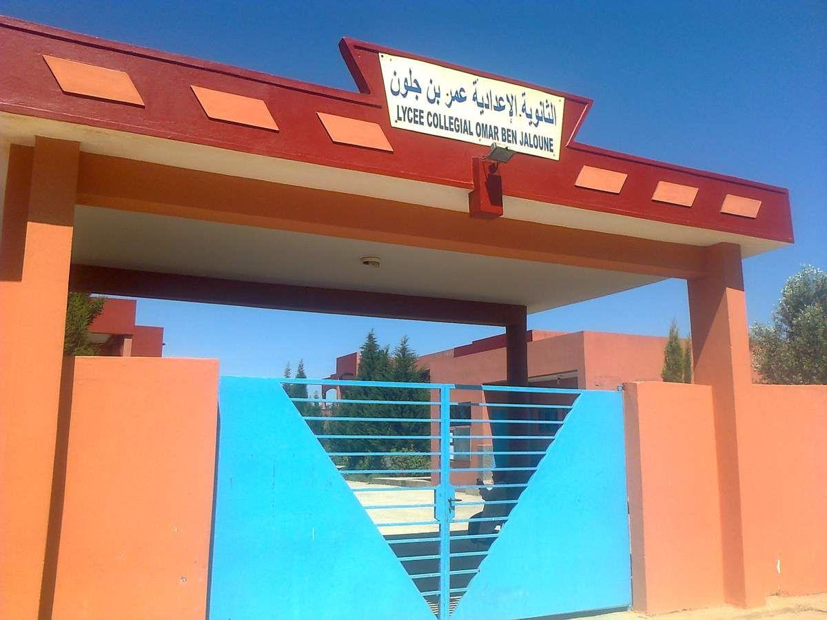 Le lycée collégial Omar Ben Jaloune à Essaouira reçoit l'écrivaine Claude Chatron-Colliet dans le cadre d'une activité portant sur le F.L.E