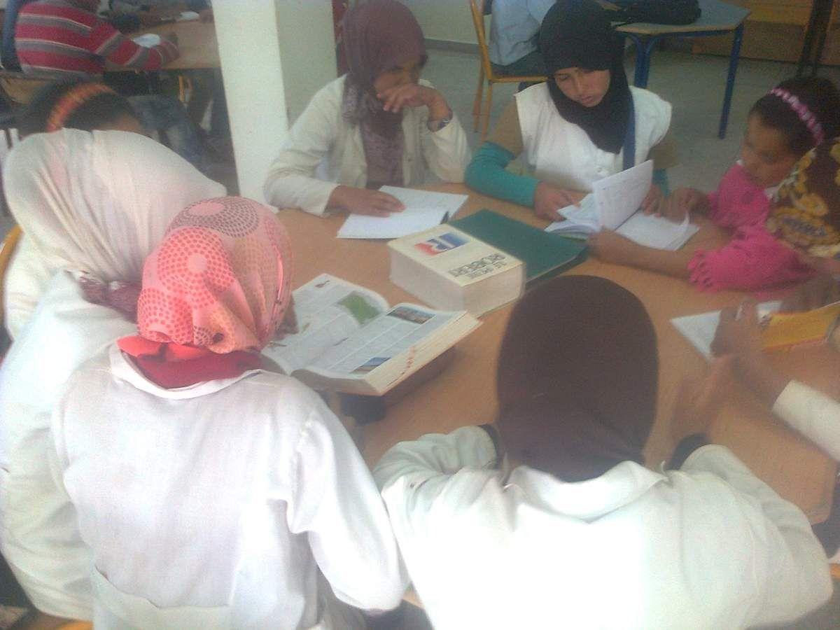 Mise en place d'un programme visant l'exploitation et l'investissement en la bibliothèque scolaire d'Omar Ben Jaloune ( Essaouira)