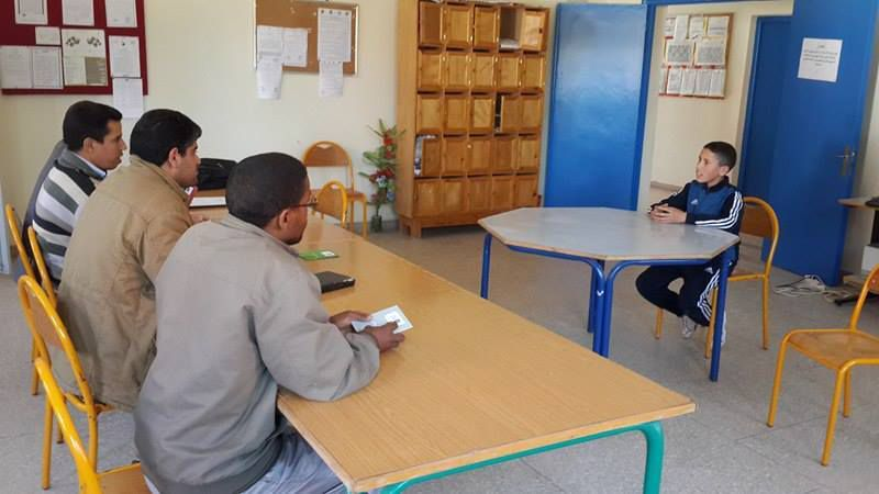 بعد انخراطها في تحدي القراءة العربي٬ ثانوية عمر بن جلون الإعدادية بالصويرة تختار من سيمثلها بمراكش