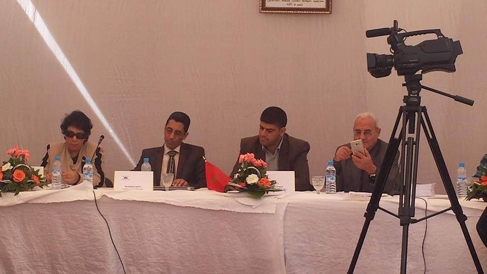 الأستاذ  عبد القادر  رجاء يشارك في ندوة وطنية حول مشاريع المؤسسات التربوية