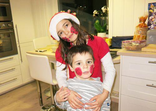 Noël avec Bon papa et Bonne maman
