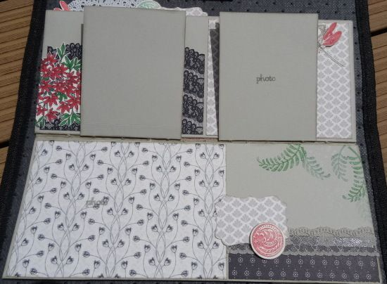 Album Shabby selon Stampin'Up.