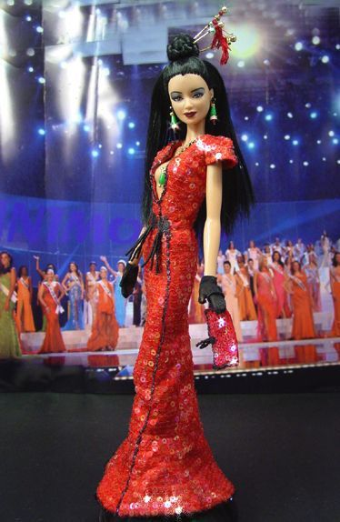 Barbie Ninimomo Miss Taïwan.