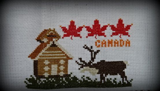 Broderie: Canada (2016-4).