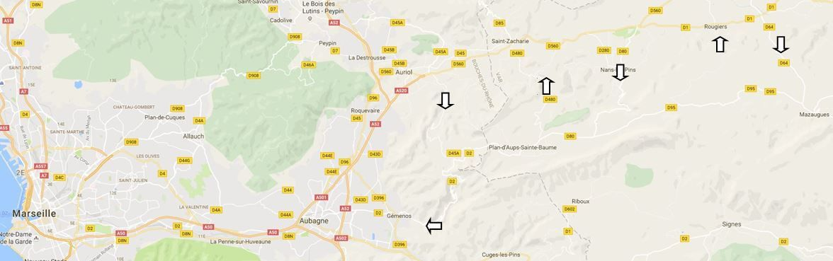 Les Six Routes…